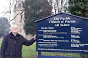 Christening event is part of church's 800th anniversary celebration